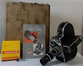 1950's BOLEX H-16 F16mm Movie Camera, SWITAR 1:1,4 25MM, YVAR 1:2,8 75MM LENSES